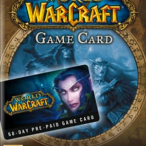 Direct in je mailbox de gamekey voor World of Warcraft 60-day time card
