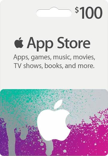 iTunes $100 Gift Card - Bitcoin betalingen geaccepteerd