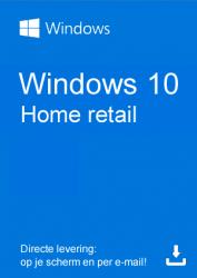 Windows 10 Home Retail kopen