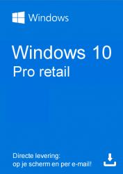 Windows 10 Professional Retail kopen